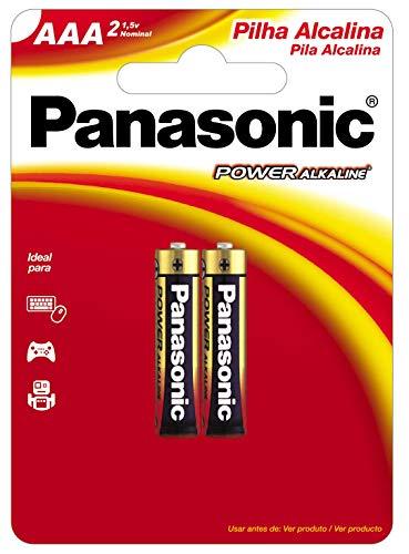 Pilha Alcalina Panasonic Aaa Palito 2 Un