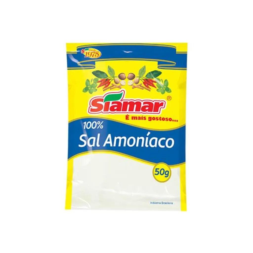 Especiarias Siamar Sal Amoníaco Pacote 50G