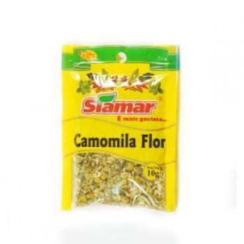 Especiarias Siamar Camomila Flor Pacote 10G