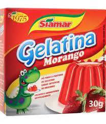 Gelatina em Pó Siamar Morango 30G