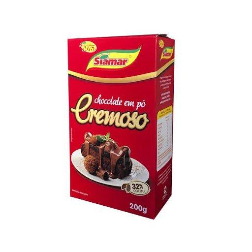 Chocolate em Pó Siamar Cremoso 200G