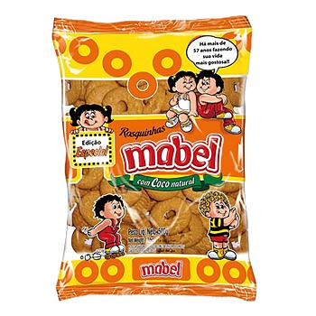 Biscoito Rosquinha Mabel Coco