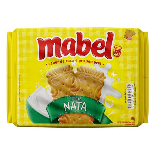 Biscoito Nata Mabel Pacote 400g 3 Unidades