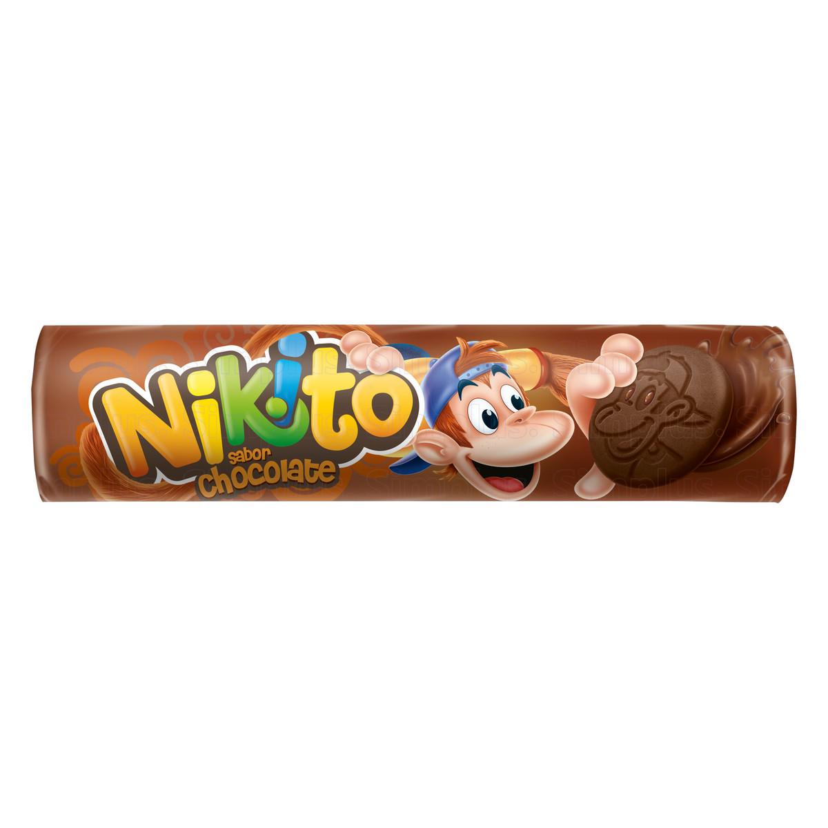 Biscoito.nikito Chocolate