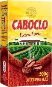 Café Torrado E Moído A Vácuo Extra Forte Caboclo Pacote 500g