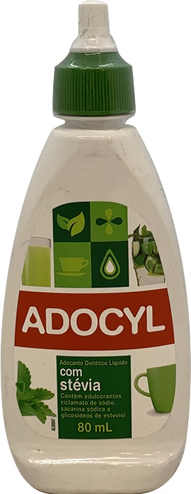 Adoçante Líquido Diet Stevia Adocyl 80ml