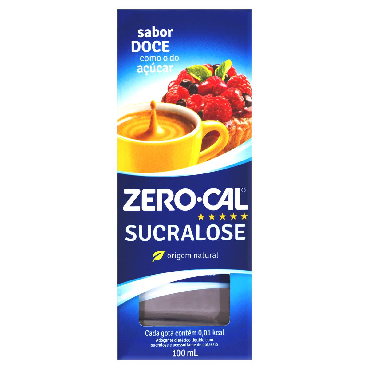 Adoçante Líquido Diet Sucralose Zero Cal 100ml