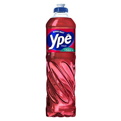 Detergente Líquido Maçã Ypê Frasco 500ml