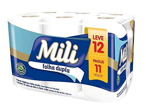 Papel Higienico Mili Folha Dupla Lv 12 Pg 11