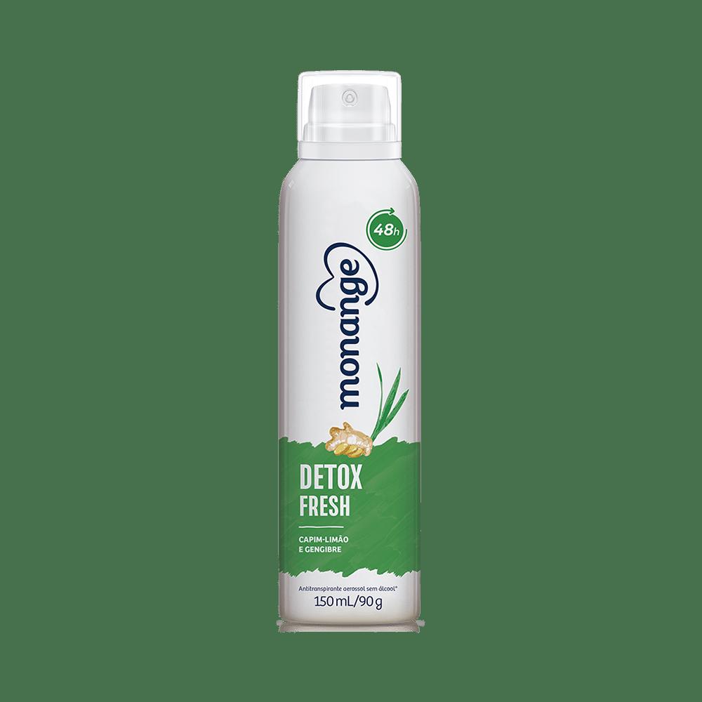 Desodorante Aero Monange Detox Fresh 150Ml