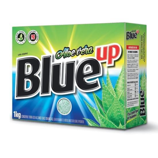 Sabão em Pó Blue Up Aloe Vera Embalagem 1Kg