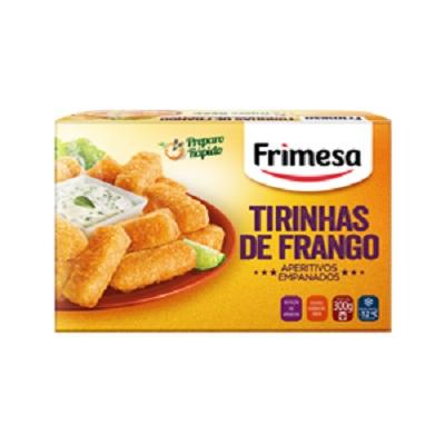 Empanado Tirinhas De Frango Congelado Aperitivos Empanados Frimesa Caixa 300g