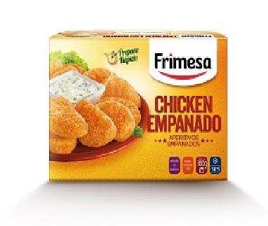 Empanado Chicken Congelado Aperitivos Empanados Frimesa Caixa 300g