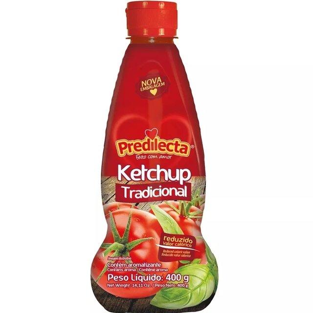 Ketchup Tradicional Predilecta Squeeze 400g