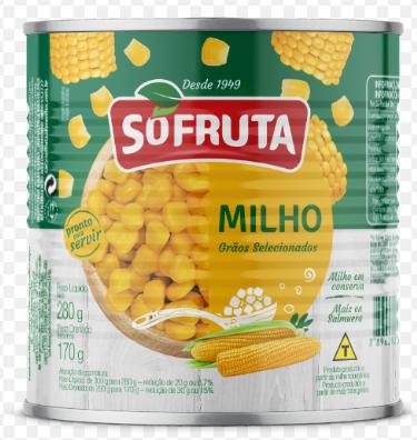 Milho Verde Sofruta Lata 170G