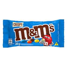 Confeito MeMs Chocolate Crispy 35Gr