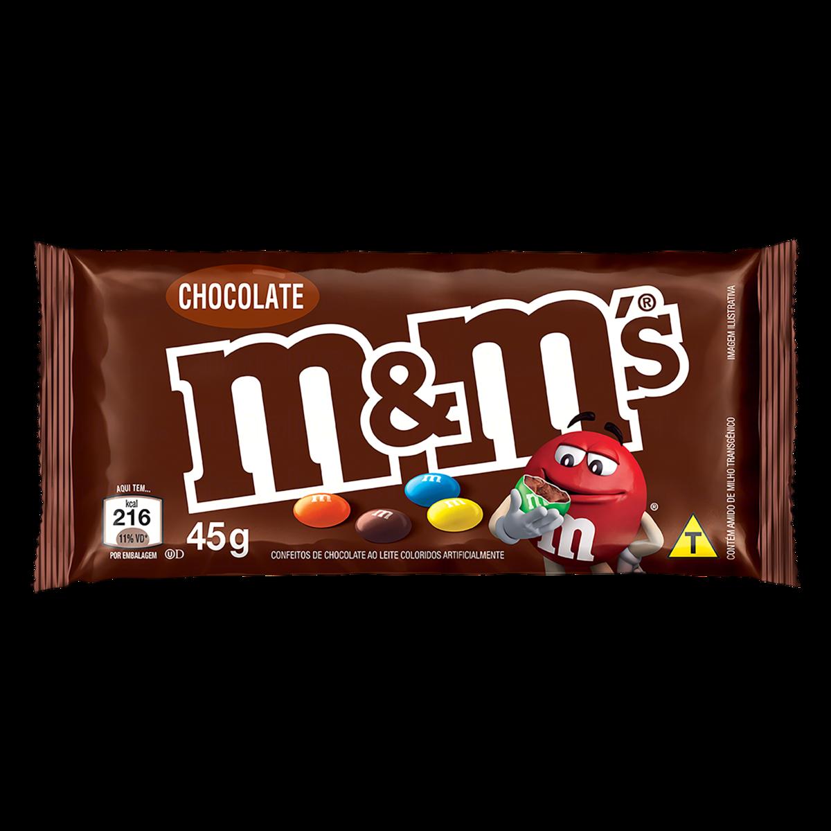 Choc M Ms 45g Chocolate
