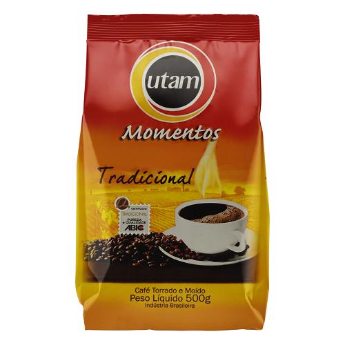 Café Utam Momentos Tradicional Pacote 500G