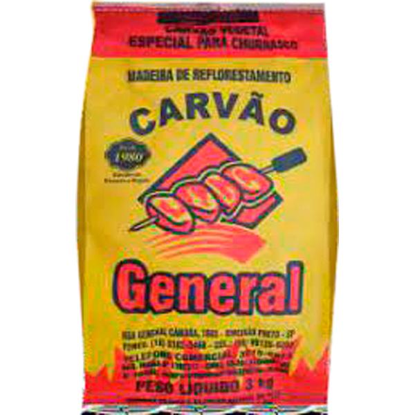 Carvão General Embalagem 3Kg