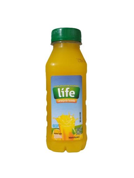 Suco Pronto Life Laranja Integral Embalagem 300Ml