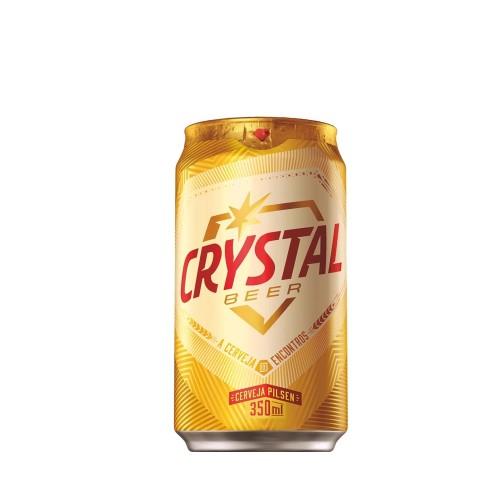 Cerveja Cristal Pilsen Lata