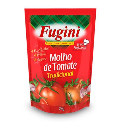 Molho De Tomate Sache 2kg Laos Fugini