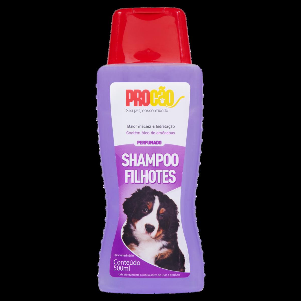 Shampoo Uso Veterinário Perfumado Filhotes Procão Frasco 500ml