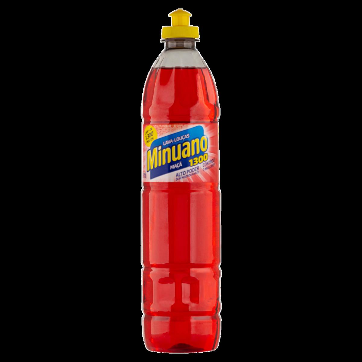 Detergente Líquido Minuano Maçã