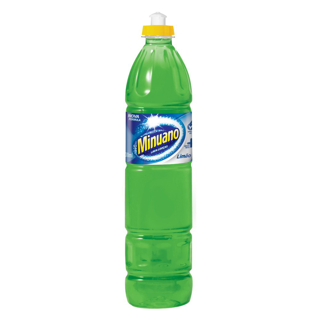 Detergente Líquido Minuano Limão