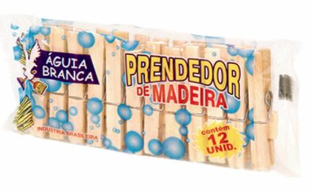 Prendedor Madeira Aguia