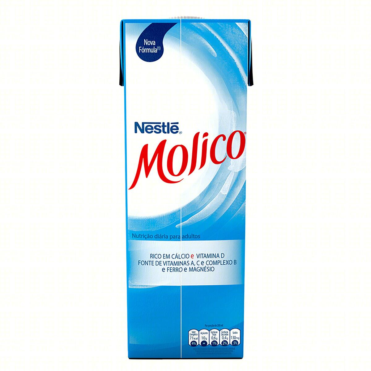 Leite Nestlé Uht Molico Desnatado 1 Litro