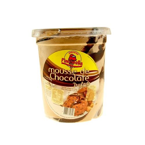 Sorvete Pimpinella Mousse de Chocolate Pote 2L