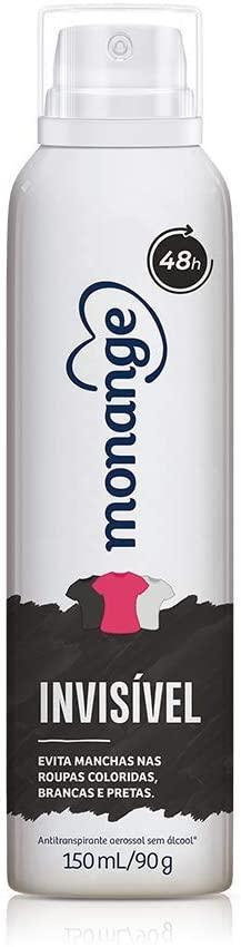 Desodorante Aerosol Invisible 90g Monange