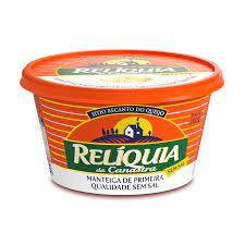 Manteiga Relíquia da Canastra sem Sal Embalagem 200G
