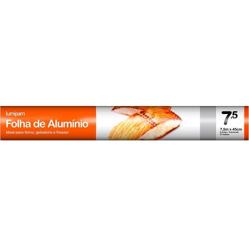 PAPEL ALUMINIO LUMIPAN 45X7,5CM