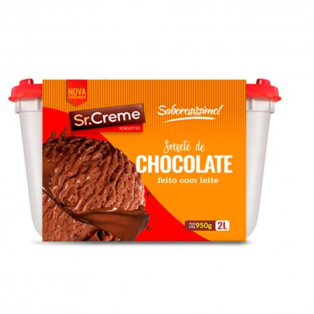 Sorvete Chocolate Sr. Creme 2L