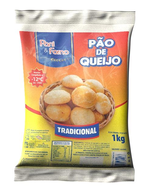 Pão de Queijo PanieForno Tradicional 1Kg