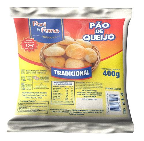 Pão de Queijo PanieForno Tradicional 400G