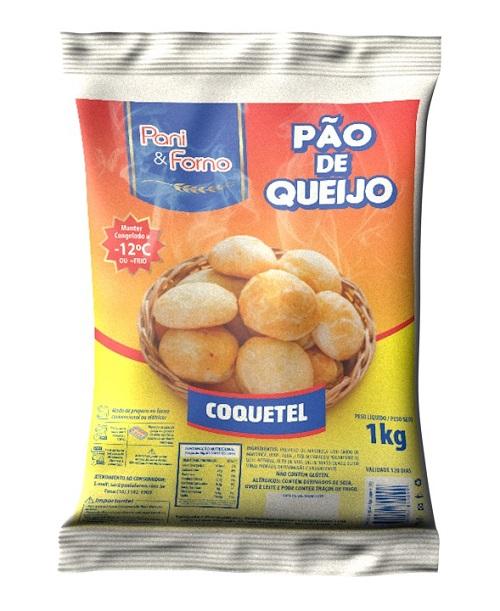 Pão de Queijo PanieForno Coquetel 1Kg