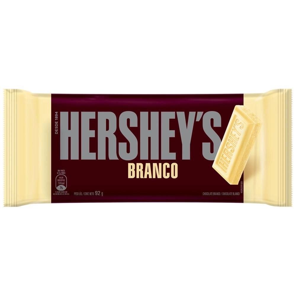 Chocolate Branco Hershey S Pacote 92g