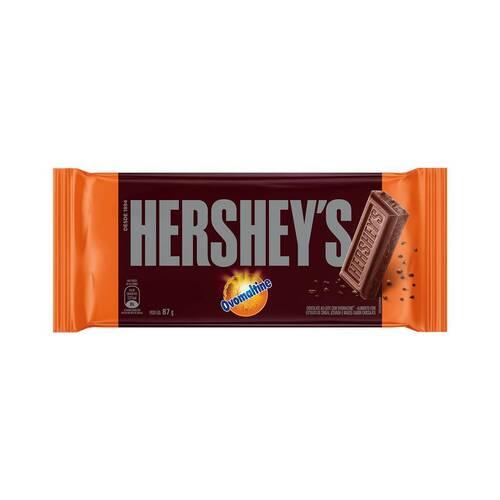 Chocolate Ao Leite Com Ovomaltine Hershey S Pacote 87g