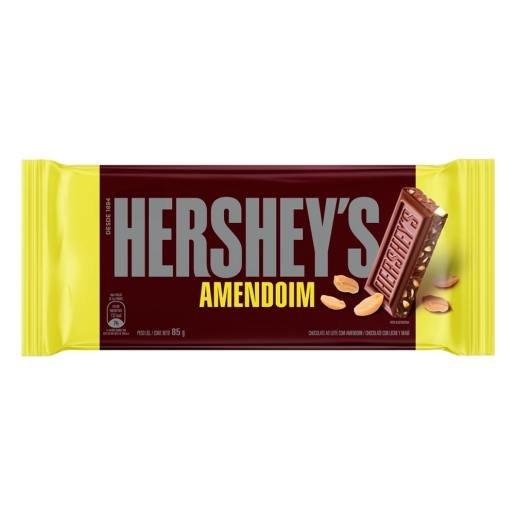 Chocolate Ao Leite Com Amendoim Hershey S Pacote 85g
